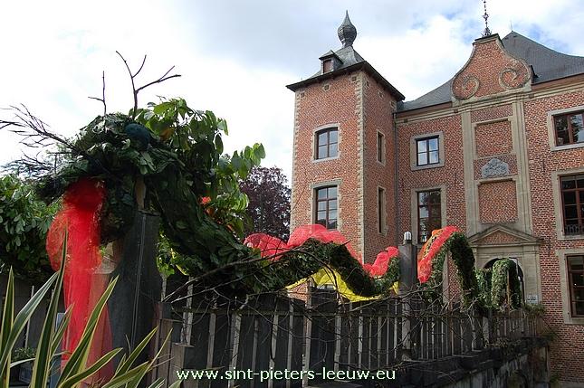 欧式玫瑰花城堡壁纸